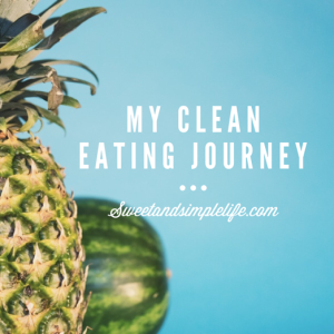 clean eating journey